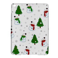 Snowman Pattern Ipad Air 2 Hardshell Cases by Valentinaart