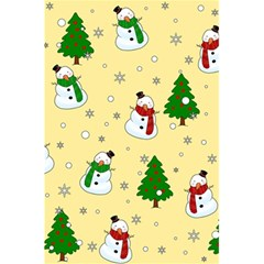 Snowman Pattern 5 5  X 8 5  Notebooks by Valentinaart
