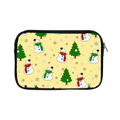 Snowman Pattern Apple Ipad Mini Zipper Cases by Valentinaart