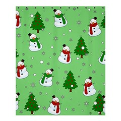 Snowman Pattern Shower Curtain 60  X 72  (medium)  by Valentinaart