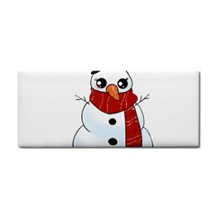 Kawaii Snowman Cosmetic Storage Cases by Valentinaart