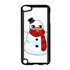 Kawaii Snowman Apple Ipod Touch 5 Case (black) by Valentinaart