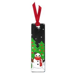 Kawaii Snowman Small Book Marks by Valentinaart