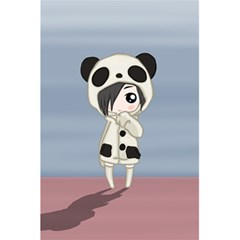 Kawaii Panda Girl 5 5  X 8 5  Notebooks by Valentinaart