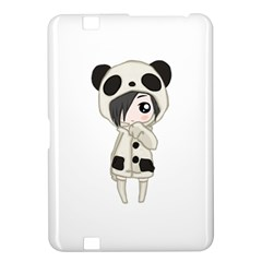 Kawaii Panda Girl Kindle Fire Hd 8 9  by Valentinaart