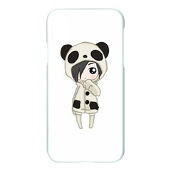 Kawaii Panda Girl Apple Iphone X Hardshell Case