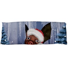 Christmas, Cute Little Piglet With Christmas Hat Body Pillow Case Dakimakura (two Sides) by FantasyWorld7