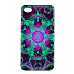 Pattern Apple Iphone 4/4s Seamless Case (black) by gasi