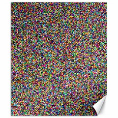 Pattern Canvas 8  X 10  by gasi