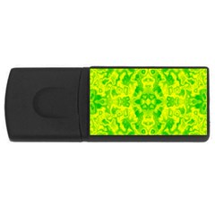 Pattern Rectangular Usb Flash Drive by gasi