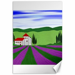 Lavender Canvas 12  X 18   by gasi