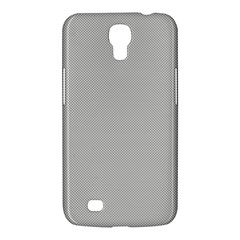 Grey And White Simulated Carbon Fiber Samsung Galaxy Mega 6 3  I9200 Hardshell Case by PodArtist