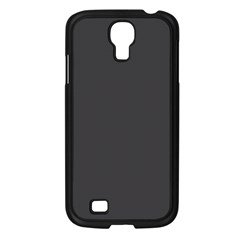Black Carbon Fiber Samsung Galaxy S4 I9500/ I9505 Case (black) by PodArtist