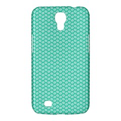 Tiffany Aqua Blue With White Lipstick Kisses Samsung Galaxy Mega 6 3  I9200 Hardshell Case by PodArtist