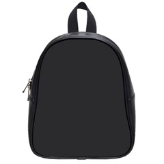 Simulated Black Carbon Fiber Steel School Bag (small) by PodArtist