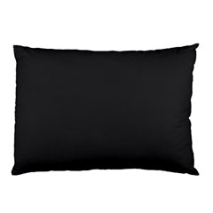 Simulated Black Carbon Fiber Steel Pillow Case (two Sides) by PodArtist