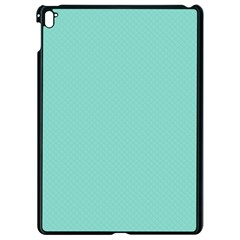 Tiffany Aqua Blue Puffy Quilted Pattern Apple Ipad Pro 9 7   Black Seamless Case by PodArtist