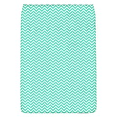 Tiffany Aqua Blue Chevron Zig Zag Flap Covers (l)  by PodArtist