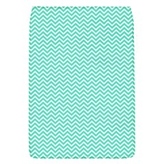 Tiffany Aqua Blue Chevron Zig Zag Flap Covers (s)  by PodArtist