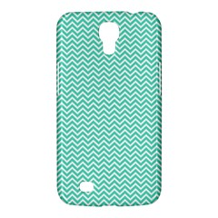 Tiffany Aqua Blue Chevron Zig Zag Samsung Galaxy Mega 6 3  I9200 Hardshell Case by PodArtist