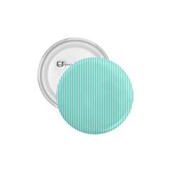 Classy Tiffany Aqua Blue Sailor Stripes 1 75  Buttons by PodArtist