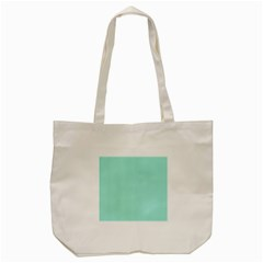 Classy Tiffany Aqua Blue Sailor Stripes Tote Bag (cream) by PodArtist
