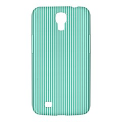 Classy Tiffany Aqua Blue Sailor Stripes Samsung Galaxy Mega 6 3  I9200 Hardshell Case by PodArtist