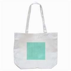 Classy Tiffany Aqua Blue Sailor Stripes Tote Bag (white) by PodArtist