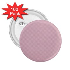 Baby Pink Stitched And Quilted Pattern 2 25  Buttons (100 Pack)  by PodArtist