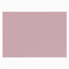 Baby Pink Stitched And Quilted Pattern Large Glasses Cloth (2 Side) by PodArtist