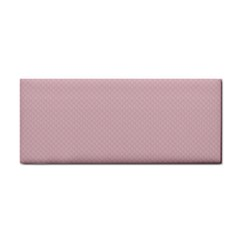 Baby Pink Stitched And Quilted Pattern Cosmetic Storage Cases by PodArtist