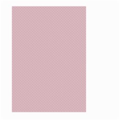 Baby Pink Stitched And Quilted Pattern Large Garden Flag (two Sides) by PodArtist