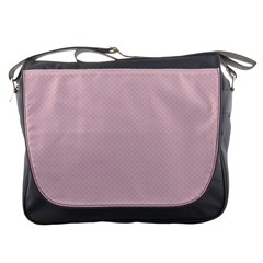 Baby Pink Stitched And Quilted Pattern Messenger Bags by PodArtist