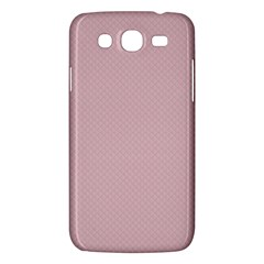 Baby Pink Stitched And Quilted Pattern Samsung Galaxy Mega 5 8 I9152 Hardshell Case  by PodArtist