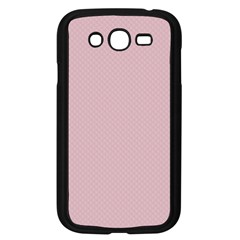 Baby Pink Stitched And Quilted Pattern Samsung Galaxy Grand Duos I9082 Case (black) by PodArtist