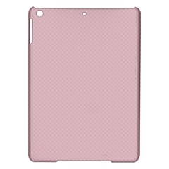 Baby Pink Stitched And Quilted Pattern Ipad Air Hardshell Cases by PodArtist
