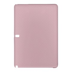 Baby Pink Stitched And Quilted Pattern Samsung Galaxy Tab Pro 10 1 Hardshell Case