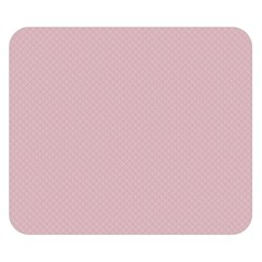 Baby Pink Stitched And Quilted Pattern Double Sided Flano Blanket (small)  by PodArtist