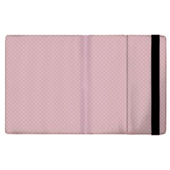 Baby Pink Stitched And Quilted Pattern Apple Ipad Pro 9 7   Flip Case by PodArtist