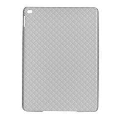 Bright White Stitched And Quilted Pattern Ipad Air 2 Hardshell Cases by PodArtist