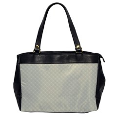 Rich Cream Stitched And Quilted Pattern Office Handbags by PodArtist