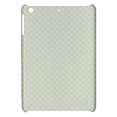 Rich Cream Stitched And Quilted Pattern Apple Ipad Mini Hardshell Case by PodArtist
