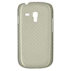 Rich Cream Stitched And Quilted Pattern Galaxy S3 Mini by PodArtist