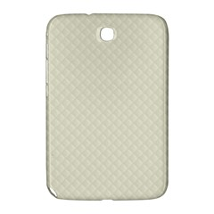 Rich Cream Stitched And Quilted Pattern Samsung Galaxy Note 8 0 N5100 Hardshell Case  by PodArtist