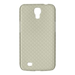 Rich Cream Stitched And Quilted Pattern Samsung Galaxy Mega 6 3  I9200 Hardshell Case by PodArtist