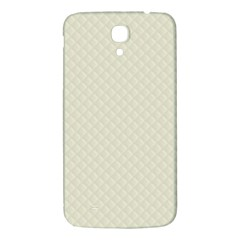 Rich Cream Stitched And Quilted Pattern Samsung Galaxy Mega I9200 Hardshell Back Case
