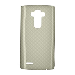 Rich Cream Stitched And Quilted Pattern Lg G4 Hardshell Case by PodArtist