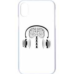 Gray Matter Apple Iphone X Seamless Case (white)