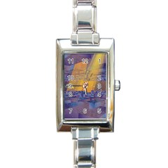 Up Down City Rectangle Italian Charm Watch