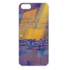 Up Down City Apple Iphone 5 Seamless Case (white) by berwies